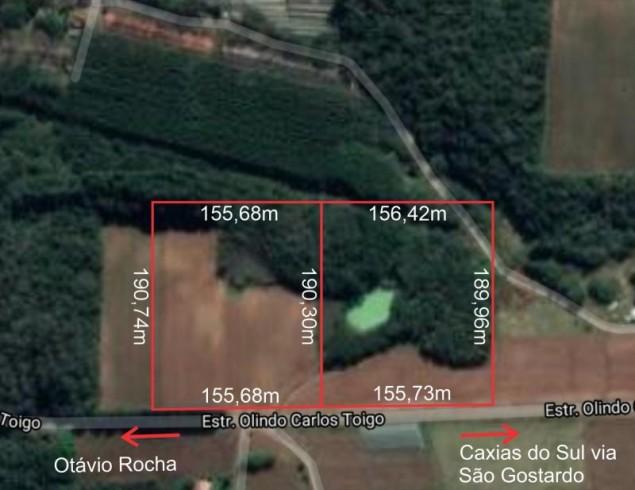 Área Rural 6 hectares - Travessão Jacinta Otávio Rocha